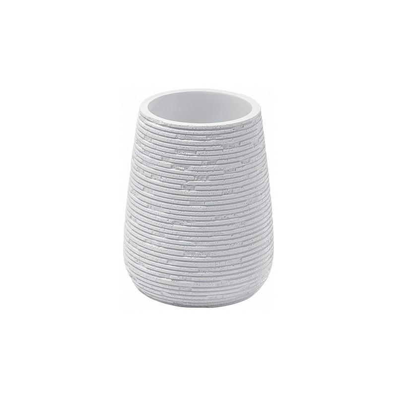 Portaspazzolino Gedy G-Gemini - Bianco