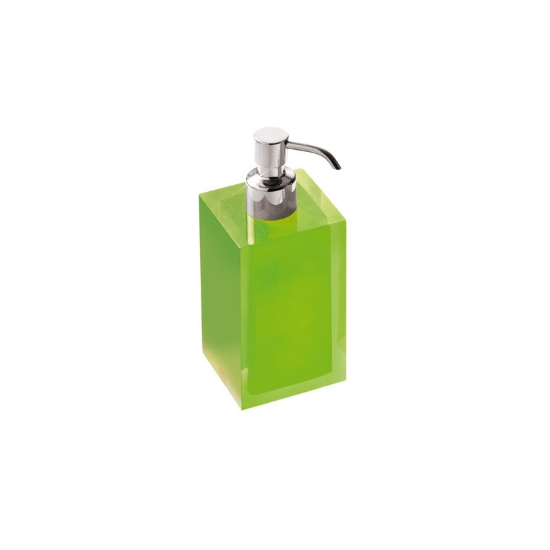 Portasapone Dosatore Gedy G-Rainbow - Verde Acido