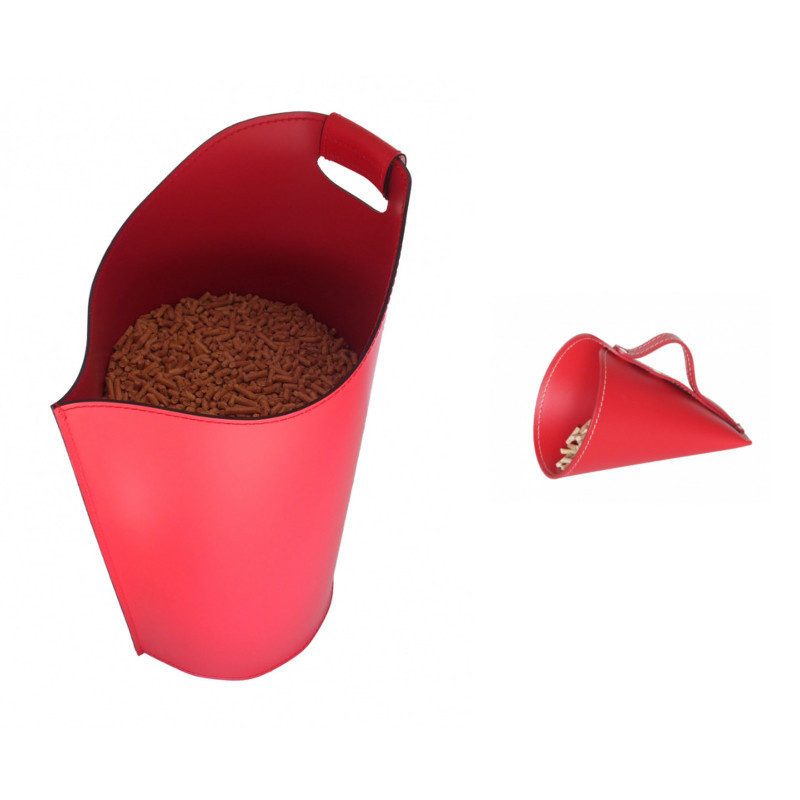 Kit porta pellet Sapir Rosso