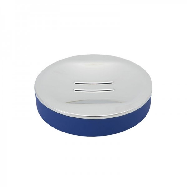 Portasapone Soft Touch Gedy G-Luna - Blu
