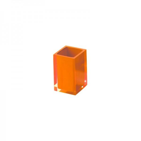 Portaspazzolino Gedy G-Rainbow - Arancio