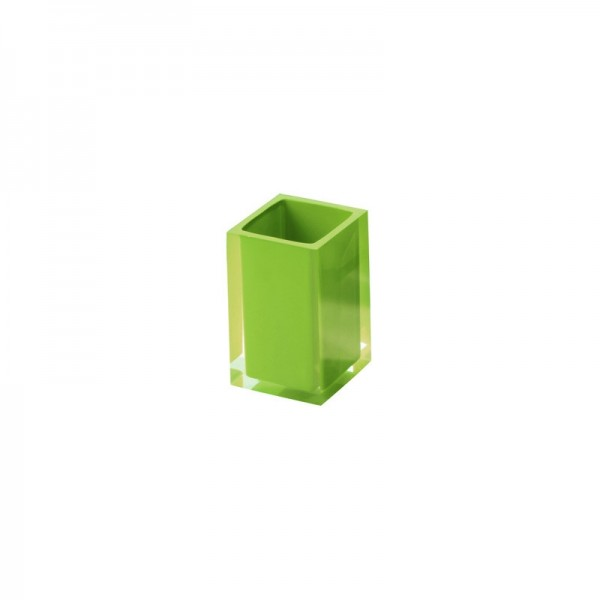 Portaspazzolino Gedy G-Rainbow - Verde Acido