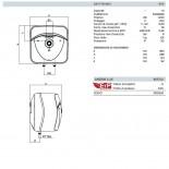 Dimensioni Andris Lux 10 L