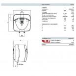 Dimensioni Andris Lux 15 L