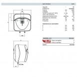 Dimensioni Andris Lux 30 L