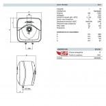 Dimensioni Andris RS 10 Litri