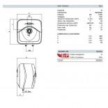 Dimensioni Andris RS 15 Litri