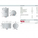 Dimensioni Ariston Pro Eco Evo 100