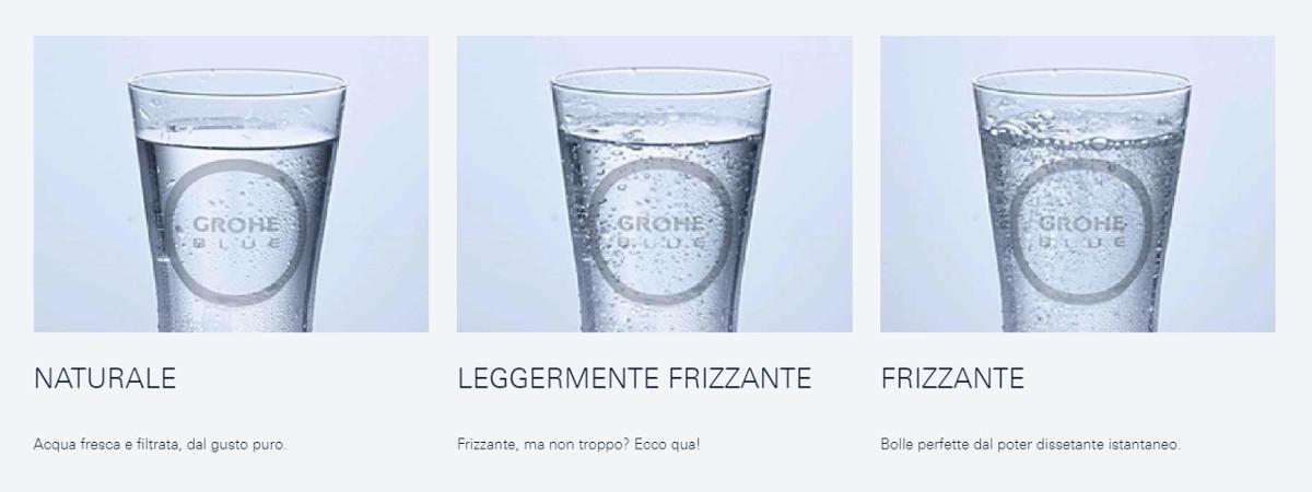 Grohe Blue 3 tipi d'acqua
